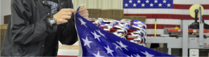 Manufacturing American Flag