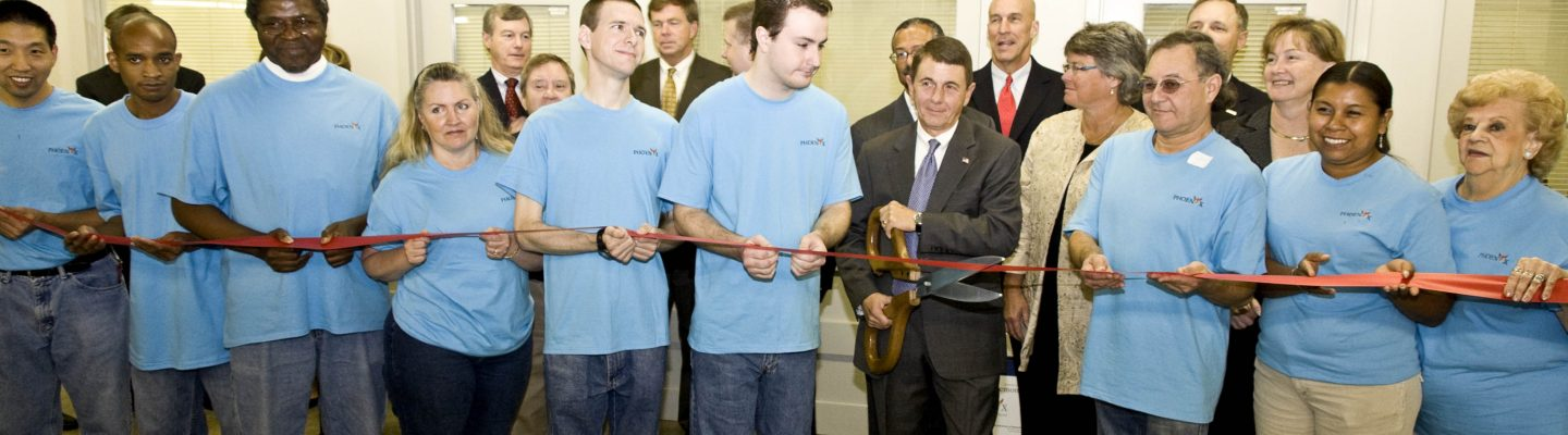 Phoenix Ribbon Cutting